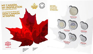 2017 canada 150th anniversary coins collector card