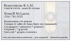 R.A.M. RENOVATIONS - SPECIALISTS IN HOME RENOS AND REMODELING West Island Greater Montréal image 3