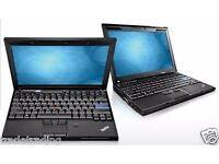 Laptop Lenovo Thinkpad X201s core i7 2.GHz 4GB 160GB WARRANTY