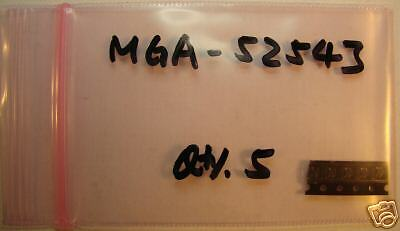 Agilent 0.4-6ghz Mmic Amplifier Mga-52543 New Qty.5