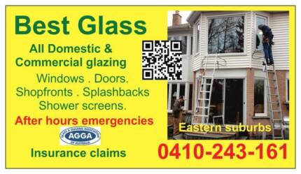 Best Glass & Glazing..   All Eastern Suburbs