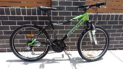 GREEN 24INCH BICYCLE