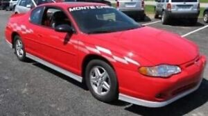 2000 Monte Carlo SS Pace Car Taz Edition