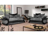New Sheldon 3&2 sofas with free pouffe
