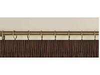 2 x wood curtain pole