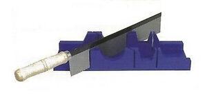 Scie a angle onglet manuelle guide de coupe 300mm bois for Coupe d angle plinthe