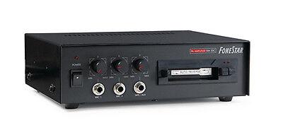 AMPLIFICADOR MEGAFONIA CON CASSETTE PARA PUBLICIDAD 12VDC- 220VAC 30W MAX BD2265