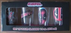 Dead Pool Set of Four Collector 16 oz. / 473ml Glassware