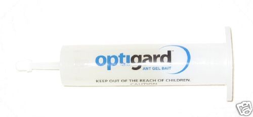 8 Tubes Optigard Ant Control Bait Gel ~ 30 grams per Tube