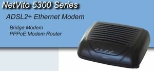 ADSL2+ DSL Modem used with Acanac.NetVito 5300 PPPoE Modem.