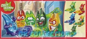 CRAZY FRIENDS FS563 logo cellulare (scegli il personaggio)_Kinder Merendero 2017 - Italia - Viene accettato il termine di 14 giorni per la restituzione dell'oggetto a seguito della nuova Direttiva Europea 2011/83/CE sui diritti dei consumatori. La spedizione e l'imballaggio degli oggetti restituiti è a carico dell'acquirente che pert - Italia
