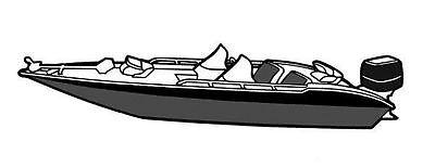 7oz BOAT COVER SEA NYMPH SC-170 SIDEWINDER 1993-1994