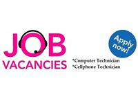 COMPUTER LAPTOP MOBILE IT TECHNICIAN REQUIRED - FULL TIME