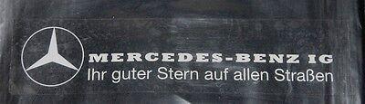"""MBIG Aufkleber """"Ihr guter Stern auf allen Straßen """" Mercedes W120 W121 W110"""