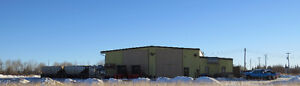Over 7 Acre Yard.  8800 sf with 2 - 110 ft Drive Thru Bays!