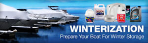 Boat and RV Storage, Winterizing and Shrink Wrap