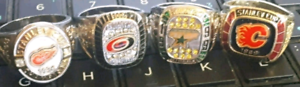 Molson Canadian NHL hockey Stanley Cup rings