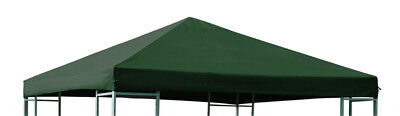 Pavillon Plane Ersatzdach Pavillion Dach Ersatzplane 3x3m wasserdicht grün