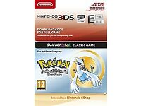 Pokemon Silver Version (Digital) for 2DS/3DS