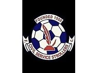 Civil service strollers amateurs looking for players