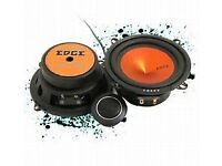 "edge 5"" component 2 way speakers new in box 210w"