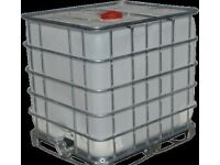 LARGE QUANTITY 1200LT IBC tanks - can be delivered to anywhere in UK