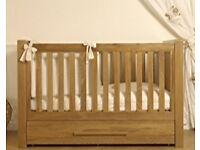 VIB Solid Oak Cot bed/Junior bed x 2
