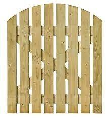 GRANGE TIMBER DOME PATH GATE (H)0.9M (W)0.9M