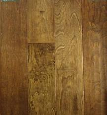 "Quality 5"" HARDWOOD Flooring for Only $3.46 available in 4 stain"