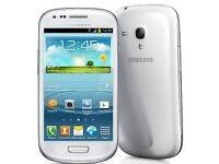 Samsung Galaxy S3 mini White (Unlocked) in good condition