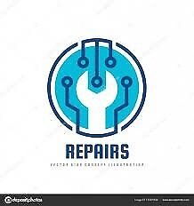 Repair cellphone computers tv dryer washer stove any ele