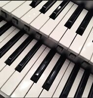 PIANO,ELECTRONIC KEYBOARD,ACCORDION,SAXOPHONE, LESSONS