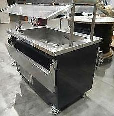 "48"" Refrigerated Salad Bar - Rare item"