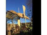Whirligig Duck - garden ornament