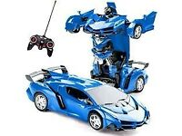 Lamborghini RC car transformer