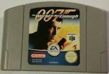 007 - The World Is Not Enough for Nintendo 64 (N64) - Negotiable! Capalaba Brisbane South East Preview