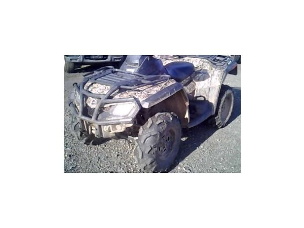 Used 2012 Can-Am CAN AM OUTLANDER MAX XT CAMO