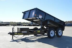 Big Tex 70SR 5'x10' Single Ram Dump 7,000# Trailer