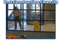 POST CONSTRUCTION CLEANUP SERVICE -