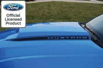 Ford Mustang Hood Spear Cowl Stripe Graphic Decal Sticker Package   Loa