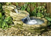 Stone river with pump and led lights RRP £399.99 never used