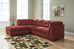 Contemporary 2 Piece Sectional