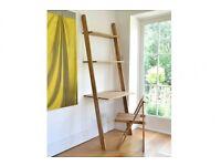 Futon Company Oak Lean-To Desk + Oak Chair