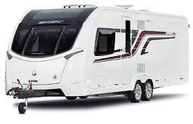 2016 Swift Conqueror 650 - Twin Axle Fixed Bed Caravan Immaculate condition