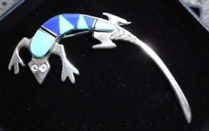 Gecko Brooch - Reduced