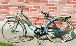 Antique 1950s Columbia Superb balloon tire bicycle London Ontario image 1