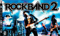 New OS PS3 Rock Band 2 S.E.;Wireless Guitar,Drum,Mic,100+Songs