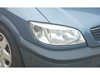 Vauxhall zafira front lights