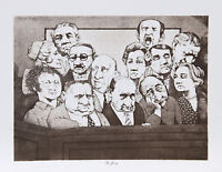 Collection of Vintage Charles Bragg Legal Prints