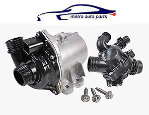 NEW WATER PUMP & THERMOSTAT 2008 TO 2014 BMW 535